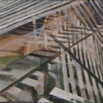 Geometrie scomposte-oliotela-40x30cm